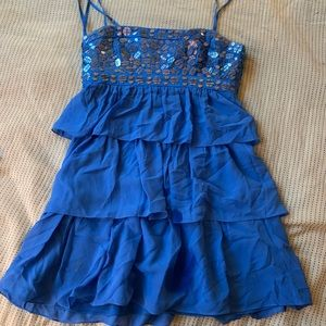BCBG tiered babydoll dress